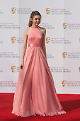 London, UK. 8 May 2016. Actress Eleanor Worthington-Cox. Red carpet  celebrity arrivals for the House Of Fraser British Academy Television Awards at the Royal Festival Hall.