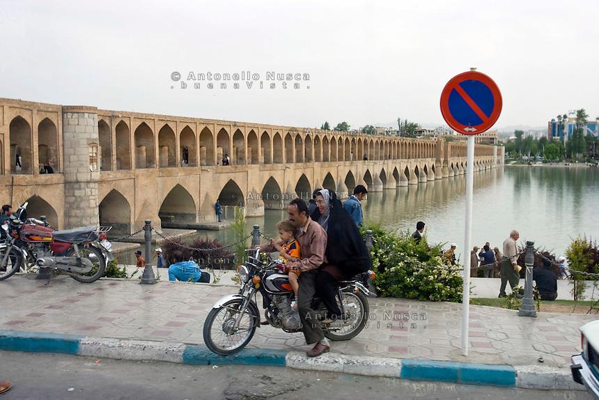 Normal life in Isfahan, Iran May  2007.