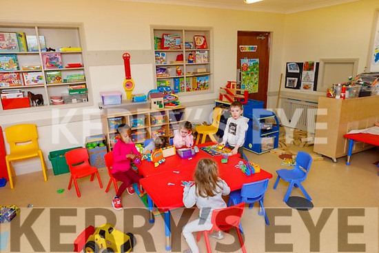 PreSchool activities in the Shanakill Family Resource Centre