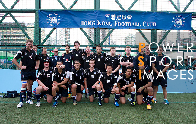 International Panthers vs China Agricultural University during Day 1 of the GFI HKFC Tens 2012 at the Hong Kong Football Club on March 21, 2012. Photo by Mike Pickles / The Power of Sport Images for HKFC