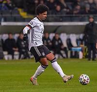 Serge Gnabry (Deutschland Germany) - 19.11.2019: Deutschland vs. Nordirland, Commerzbank Arena Frankfurt, EM-Qualifikation DISCLAIMER: DFB regulations prohibit any use of photographs as image sequences and/or quasi-video.