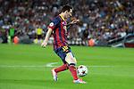 UEFA Champions League 2013/2014.<br /> FC Barcelona vs AFC Ajax: 4-0 - Game: 1.<br /> Lionel Messi.