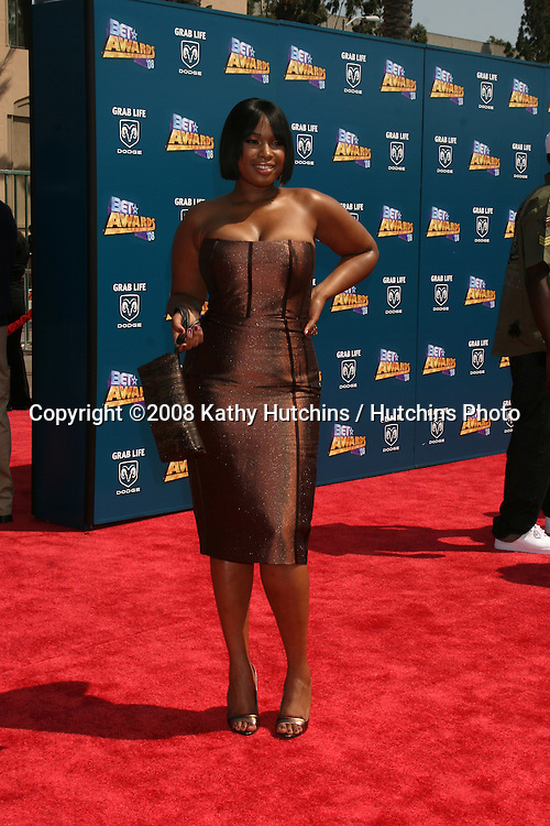 Jennifer Hudson  arriving  at the BET Awards at the Shrine Auditorium in Los Angeles, CA on.June 24, 2008.©2008 Kathy Hutchins / Hutchins Photo .