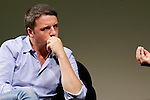 Italian Prime Minister and Democratic Party (PD) leader Matteo Renzi attends a discussion at the Festival of Economics in Trento, on June 1, 2014.  AFP PHOTO / PIERRE TEYSSOT<br /> <br /> Italian Prime Minister and Democratic Party (PD) leader Matteo Renzi attends the Festival of Economics, in Trento, on June 1, 2014.