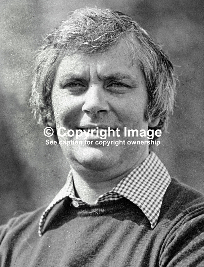 Glenn Barr, community worker, political activist, Londonderry, N Ireland, UK, 19790084a<br />
