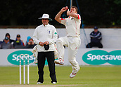 June 11th 2017, Trafalgar Road Ground, Southport, England; Specsavers County Championship Division One; Day Three; Lancashire versus Middlesex; Ryan McLaren of Lancashire bowls during the Middlesex second innings