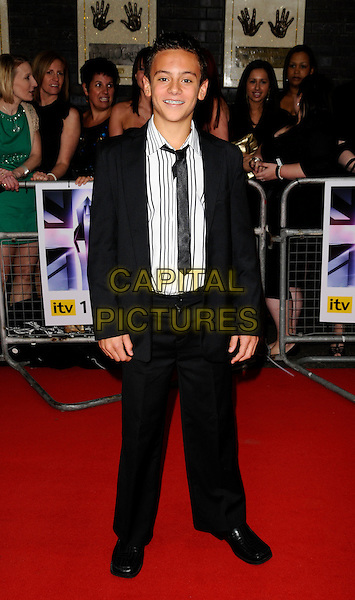 TOM DALEY.The Britain's Best 2008 Ceremony, The London Studios, South Bank, London, England. .May 18th, 2008.full length black suit .CAP/CAN.©Can Nguyen/Capital Pictures.