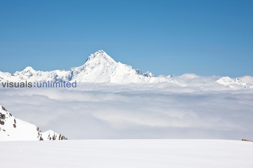 Mt. Sefton (10,338 ft, 3151 m), Mt. Cook National Park, South Island, New Zealand