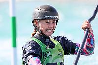 Martina Wegman. Oceania Canoe Slalom Championships, Whero Whitewater Park, Auckland, New Zealand, 1st February 2020. Photo: Simon Watts/www.bwmedia.co.nz