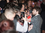 Juno Temple and Daniel Radcliffe attends 'Horns' UK Premiere at the Odeon West End in London, England. 20th October 2014