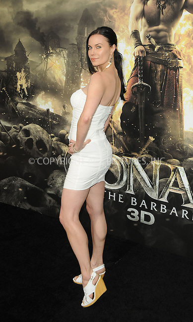 WWW.ACEPIXS.COM . . . . .  ....August 11 2011, LA....Actress Jon Mack arriving at the premiere 'Conan The Barbarian' on August 11, 2011 in Los Angeles, California....Please byline: PETER WEST - ACE PICTURES.... *** ***..Ace Pictures, Inc:  ..Philip Vaughan (212) 243-8787 or (646) 679 0430..e-mail: info@acepixs.com..web: http://www.acepixs.com