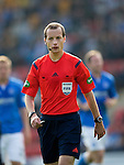 St Johnstone v Dundee...13.09.14  SPFL<br /> Referee Willie Collum<br /> Picture by Graeme Hart.<br /> Copyright Perthshire Picture Agency<br /> Tel: 01738 623350  Mobile: 07990 594431