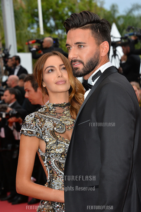 Nabilla Benattia &amp; Thomas Vergara at the gala screening for &quot;Solo: A Star Wars Story&quot; at the 71st Festival de Cannes, Cannes, France 15 May 2018<br /> Picture: Paul Smith/Featureflash/SilverHub 0208 004 5359 sales@silverhubmedia.com