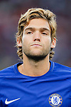 Chelsea Defender Marcos Alonso during the International Champions Cup match between Chelsea FC and FC Bayern Munich at National Stadium on July 25, 2017 in Singapore. Photo by Marcio Rodrigo Machado / Power Sport Images