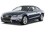Front three quarter view of a 2012 Audi A5 S Line Coupe Stock Photo