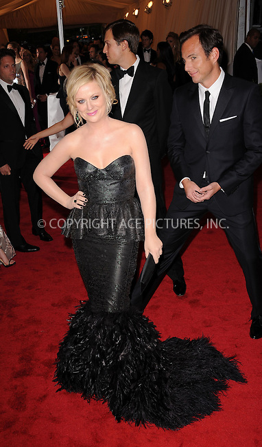 WWW.ACEPIXS.COM . . . . . ....May 7 2012, New York City....Will Arnett and Amy Poehler arriving at the 'Schiaparelli And Prada: Impossible Conversations' Costume Institute Gala at the Metropolitan Museum of Art on May 7, 2012 in New York City.....Please byline: KRISTIN CALLAHAN - ACEPIXS.COM.. . . . . . ..Ace Pictures, Inc:  ..(212) 243-8787 or (646) 679 0430..e-mail: picturedesk@acepixs.com..web: http://www.acepixs.com