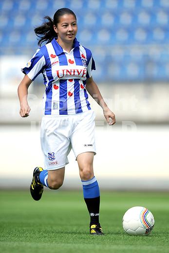 HEERENVEEN - Persdag Heerenveen Erdivisie vrouwen , seizoen 2011-2012, 07-07-2011 Sishut Hau