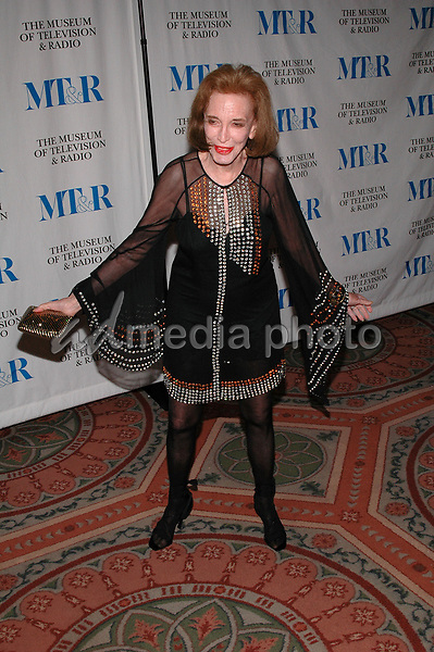 26 May 2005 - New York, New York - Helen Gurley Brown arrives at The Museum of Television and Radio's Annual Gala where Merv Griffin is being honored for his award winning career in radio and television.<br />