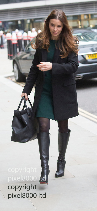 Pic shows: Tana Ramsay wife of TV chef Gordon -arrives alone for the second day running at High Court in London today 25.11.14<br /> <br /> She gave evidence in a case versus Gary Love - film director over a lease and forged signature.<br /> <br /> <br /> <br /> <br /> Pic by Gavin Rodgers/Pixel 8000 Ltd