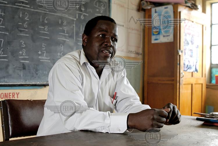Paul Muhuro, a teacher at Lenana school.