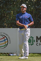 Shubhankar Sharma (IND) watches his tee shot on 3 during round 4 of the World Golf Championships, Mexico, Club De Golf Chapultepec, Mexico City, Mexico. 3/4/2018.<br /> Picture: Golffile | Ken Murray<br /> <br /> <br /> All photo usage must carry mandatory copyright credit (© Golffile | Ken Murray)