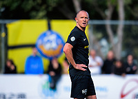 Team Wellington captain Bill Robertson during the Oceania Football Championship final (second leg) football match between Team Wellington and Auckland City FC at David Farrington Park in Wellington, New Zealand on Sunday, 7 May 2017. Photo: Dave Lintott / lintottphoto.co.nz