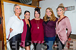 Charlotte O'Shea, Tralee   getting married to Ryan Lawe, here celebrating with friends at Bella Bia on SaturdayPictured  Claire Cunningham, Casey Leen, Charlotte O'Shea Shannon O'Shea, Joanne Lynch