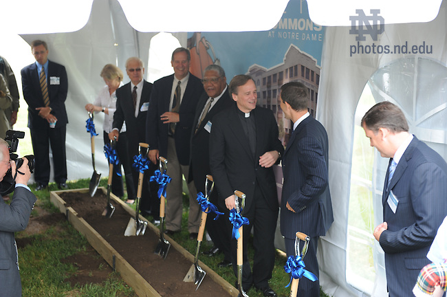 Eddy St. Commons groundbreaking