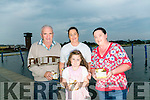 Celebration of Light - In association with the Rose of Tralee International Festival, Recovery Haven Kerry held a Celebration of Light, releasing lanterns on the water at the Tralee Bay Wetlands on Tuesday Pictured were L-R  Bernie O,Connell, Spohie Leen, Jacinta Bradley and Paula Sells