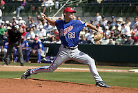 March 26, 2004:  Pitcher Randy Choate of the Montreal Expos (Washington Nationals) organization during Spring Training at Osceola County Stadium in Kissimmee, FL.  Photo copyright Mike Janes/Four Seam Images