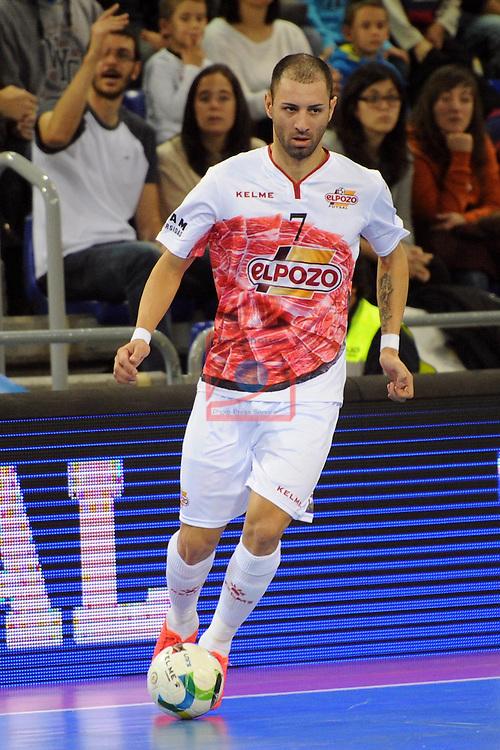 League LNFS 2016/2017 - Game 8.<br /> FC Barcelona Lassa vs ElPozo Murcia: 2-3.<br /> Cardinal.
