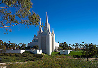 Morman Church LDS Temple, San Diego, CA