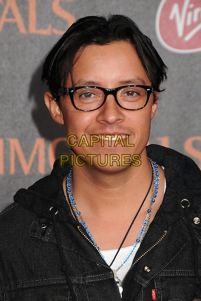 Efren Ramirez.The World Premiere of 'Immortals' held at The Nokia Theater Live in Los Angeles, California, USA..November 7th, 2011.headshot portrait black.CAP/ADM/BP.©Byron Purvis/AdMedia/Capital Pictures.