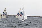 Bjornar Erikstad competes in the first day of sailing in the 2.4M class at the London Paralympic Games.