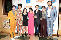 LOS ANGELES - OCT 28: Joshua Rush, Sofia Wylie, Vivian McMurray, Lauren Tom, Asher Angel, Peyton Elizabeth Lee, TArquin Wilding at The Actors Fund's 2018 Looking Ahead Awards at the Taglyan Complex on October, 2018 in Los Angeles, California