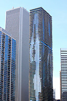 Aqua Tower Chicago Illinois USA Building By Jonathan Green