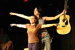 Becky & Noelle at Sketchfest NYC, 2005. Sketch Comedy Festival at the Upright Citizen's Brigade Theatre, New York City.
