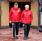 Mark McGhee and Gordon Strachan