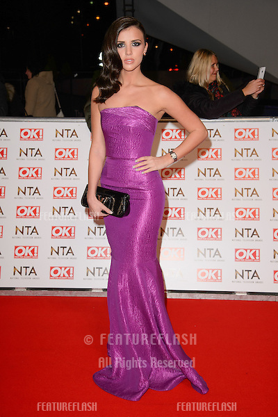 Lucy Mecklenburgh arrives for the National TV Awards 2015 at the O2 Arena, Greenwich London. 21/01/2015 Picture by: Steve Vas / Featureflash