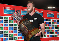 PRETORIA, SOUTH AFRICA - OCTOBER 06: Kieran Read (captain) of the New Zealand All Blacks during the Rugby Championship match between South Africa Springboks and New Zealand All Blacks at Loftus Versfeld Stadium. on October 6, 2018 in Pretoria, South Africa. Photo: Steve Haag / stevehaagsports.com