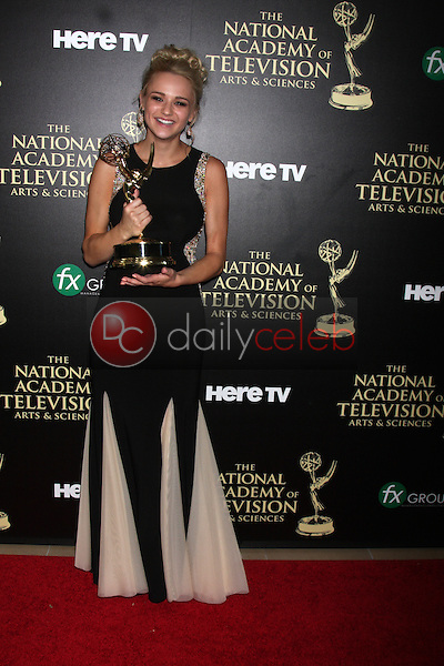 LOS ANGELES - JUN 22:  Hunter King at the 2014 Daytime Emmy Awards Press Room at the Beverly Hilton Hotel on June 22, 2014 in Beverly Hills, CA
