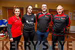 Members of the St Mary&rsquo;s Basketball Club attending the St Marys Basketball Monster bingo night in Castleisland on Tuesday.<br /> L-r, Fiona O&rsquo;Connor, Aoife Nolan, Liam Culloty, Eamon Egan,