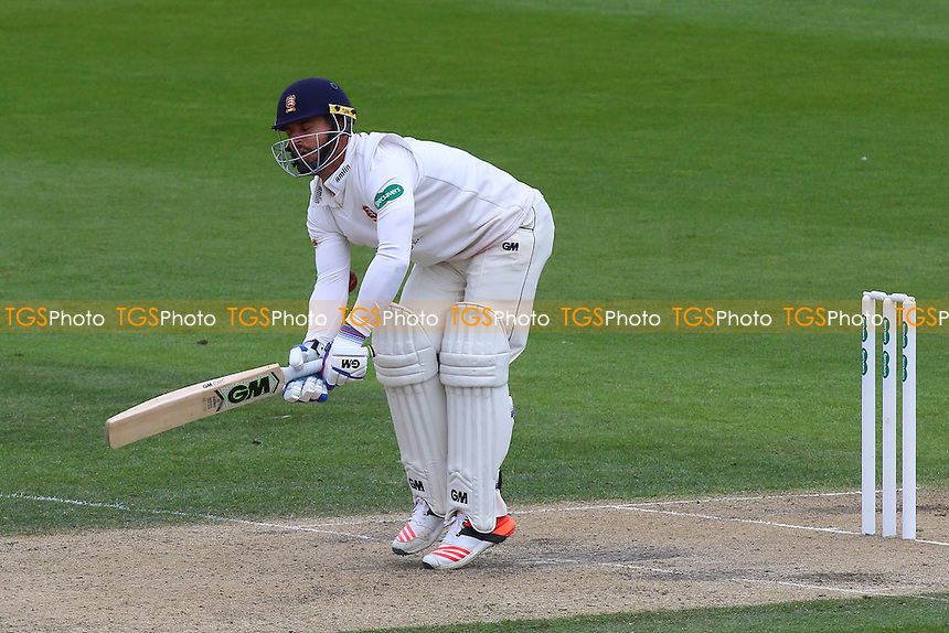 Ryan ten Doeschate of Essex is struck by the ball during Sussex CCC vs Essex CCC, Specsavers County Championship Division 2 Cricket at The 1st Central County Ground on 18th April 2016