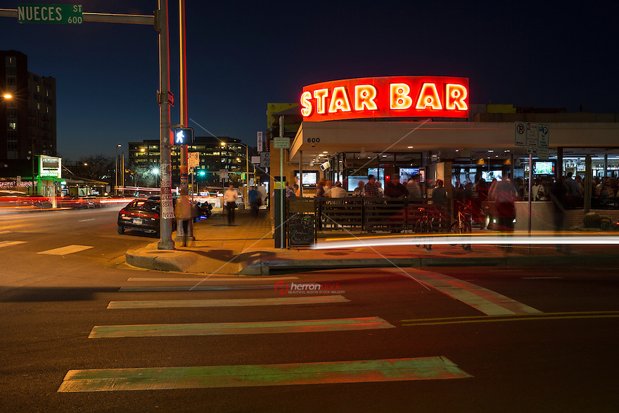 Austin has been transformed by the upscale and yuppie West Sixth Street Bar District. West Sixth goes on for over a dozen blocks (from Congress Avenue to Mopac), but the downtown area of 6th west of Lavaca is known as the West 6th Street Bar District.