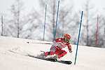 Ammi Hondo (JPN), <br /> MARCH 13, 2018 - Alpine Skiing : <br /> Women's Super Combined  Standing <br /> at Jeongseon Alpine Centre  <br /> during the PyeongChang 2018 Paralympics Winter Games in Pyeongchang, South Korea. <br /> (Photo by Sho Tamura/AFLO)
