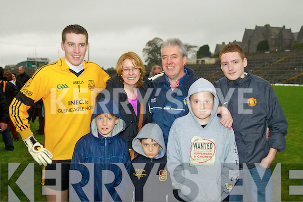 Dr. CrokesSupporters at the Senior Football Championship Final in Fitzgerald Stadium on Sunday.Alan Kelly, Colm Kelliher, renda Kelliher, James Kelliher Patrick Teahon, Matthew Teahon and Daryl Teahon