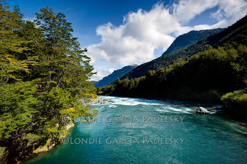 Futalefu River, Los Lagos Region,  Patagonia, Chile, South America