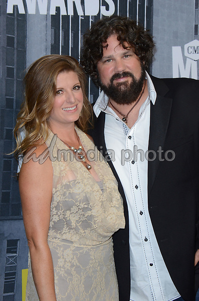 07 June 2017 - Nashville, Tennessee - Andi Zack-Johnson, Ken Johnson. 2017 CMT Music Awards held at Music City Center. Photo Credit: Tonya Wise/AdMedia
