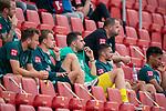 enttäuscht / enttaeuscht / traurig, Philipp Bargfrede (Werder Bremen #44), Christian Groß / Gross (Werder Bremen #36), Stefanos Kapino (Werder Bremen #27), Leonardo Bittencourt  (Werder Bremen #10), Theodor Gebre Selassie (Werder Bremen #23), Michael Lang (Werder Bremen #04)<br /> <br /> <br /> Sport: nphgm001: Fussball: 1. Bundesliga: Saison 19/20: 33. Spieltag: 1. FSV Mainz 05 vs SV Werder Bremen 20.06.2020<br /> <br /> Foto: gumzmedia/nordphoto/POOL <br /> <br /> DFL regulations prohibit any use of photographs as image sequences and/or quasi-video.<br /> EDITORIAL USE ONLY<br /> National and international News-Agencies OUT.