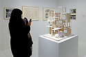"London, UK. 22.03.2017. ""The Japanese House: Architecture and Life After 1945"" exhibition opens in the Barbican Art Gallery, Barbican Centre. The exhibition is the first major UK one to focus on Japanese domestic architecture from the end of the Second World War to now. It features over 40 architects, including Tadao Ando, Toyo Ito, Kazuyo Sejima, Kenzo Tange, Osamu Ishiyama, Kazunari Sakamoto, Kazuo Shinohara, Hideyuki Nakayama, Chie Konno. At the heart of the exhibition is a full-size recreation of the Moriyama House (2005), by architect Ryue Nishizawa. Photograph © Jane Hobson."